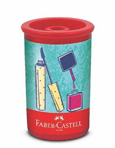 Apontador Com Depósito Tubo It Girl Faber Castell