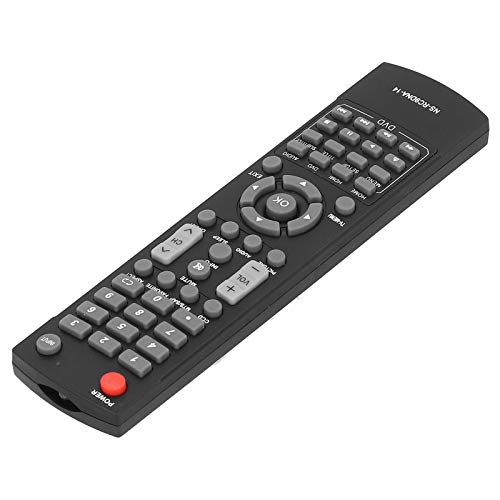 Socobeta Mando de TV resistente al desgaste y duradero Distancia 10 metros Control remoto TV fácil de operar, para TV LCD INSIGNIA