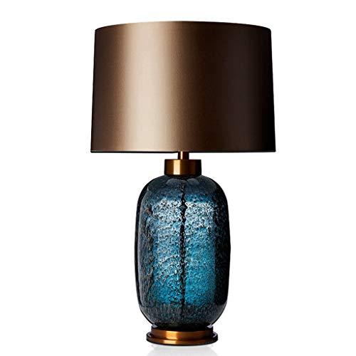 Lámpara de cabecer La simplicidad moderna lámpara de mesa de noche creatividad de cristal lámpara de escritorio for el dormitorio sala de estar Oficina Estudio sitio de la tabla Lámparas de mesa de no