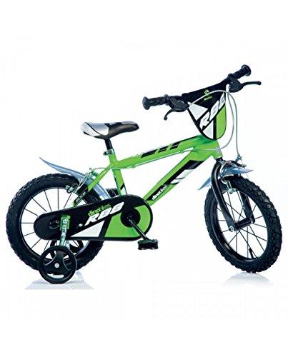 DINO BIKES Bicicletta Dino Serie Mtb Boy Verde 14' 414U-R88