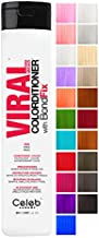 Celeb Luxury Viral Colorditioner, Professional Semi-Permanent Hair Color Depositing Conditioner, Red