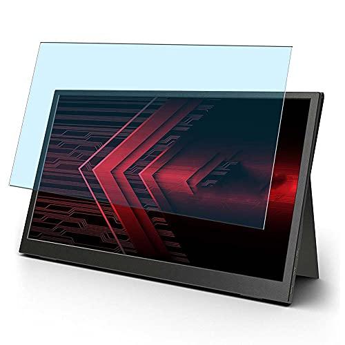 Vaxson 2 Stück Anti Blaulicht Schutzfolie, kompatibel mit Pixio PX160 Portable Monitor Display 15.6