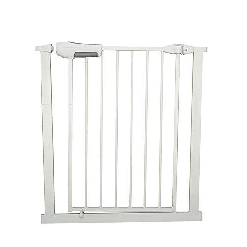 Barrière de sécurité Porte très Longue pour bébés, Enfants, Chiens Blancs en métal pour Le Couloir/entrées de Porte/escaliers/intérieur, Largeur 65-194 (Taille : Width 171-173cm)