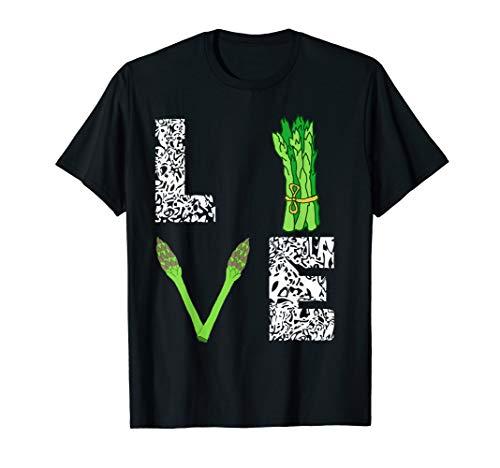 Spargel Gemüse Spargelsaison Gärtner Grüner Spargel Saison T-Shirt