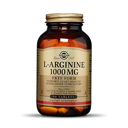 Solgar L-Arginine, 1000 mg, 90 Tablettes