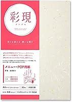 PCM竹尾 プリンタ用紙 彩現 メニュー・POP用 A4 昇竜 金銀振り 5 セット 1742063