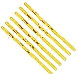 ACXMKEX 12' Bi-Metal Hacksaw Blades, 18 TPI, 24 TPI,32 TPI, 6pack - Replacement High Speed Steel Safe Flex...