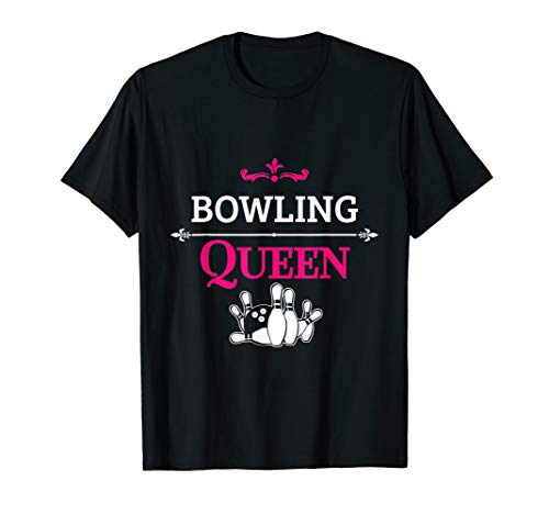 Bowling Queen Women Bowler T-Shirt