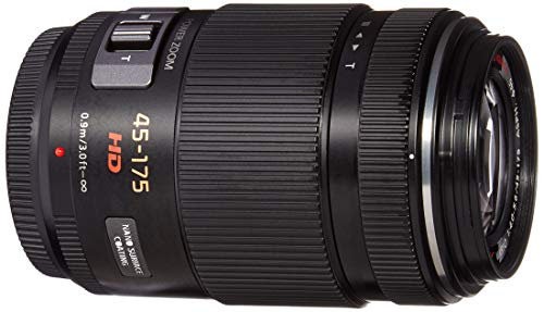 Panasonic LUMIX G X Vario Power Zoom Lens, 45-175MM, F4.0-5.6 ASPH, MIRRORLESS Micro Four Thirds, Power Optical I.S, H-PS45175K (USA Black)
