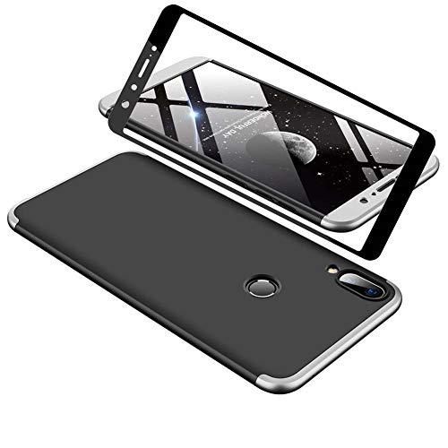 1stfeel Funda Compatible ASUS Zenfone MAX Pro M1 ZB602KL 360°Caja Caso + Vidrio Templado, 360...