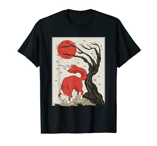 Bäume Wald Silhouette Pinselstrich mit...