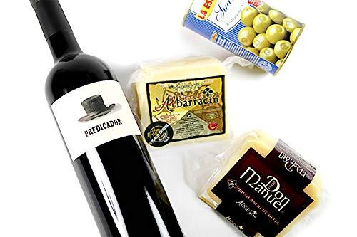 極上ワインと金賞受賞チーズを楽しむセット(ボデガ・コンタドールの赤ワイン『プレディカドール』)