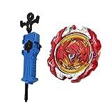 KESOTO Juguete de Lanzamiento de Peonza con Lanzador Rapidity 4D Burst Niños- Revive Phoenix 10.FR B-117