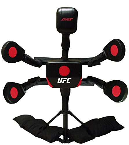 BAS UFC Body Action System X2 - Professional Freestanding Home Training Equipment for MMA, Boxing, Muay Thai and Martial Arts - Adjustable Punching and Kicking Pads