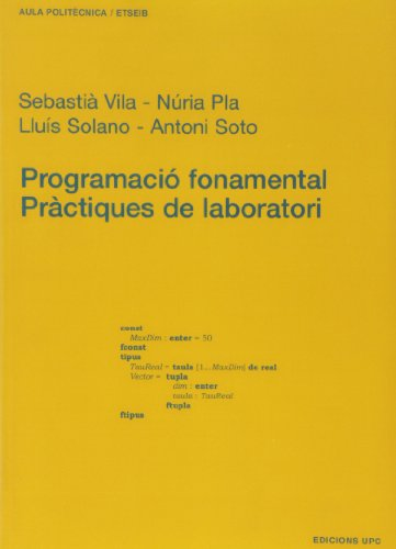 Programació fonamental. Pràctiques de laboratori: 35 (Aula Politècnica)