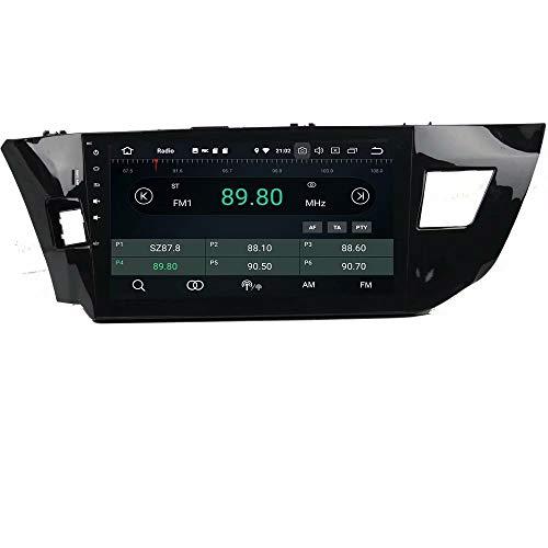 ROADYAKO Unité Principale pour Toyota Levin 2013 2014 2015 Android 8.0 Autoradio Stéréo avec Navigation GPS 3G Lien Lien Miroir RDS FM AM Bluetooth Multimédia Audio Vidéo
