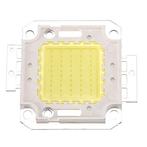 Mogzank Hochleistung 50W LED Chip Birne Licht Lampe DIY Weiss 3800LM 6500K