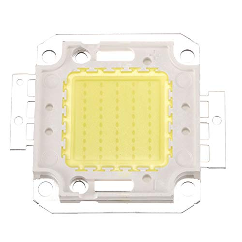SODIAL(R) 50W 3800LM 6500K DC32-34v Bombilla LED Lampara DIY Chip Luz Color Blanco