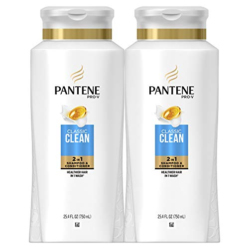 Pantene, Shampoo and Conditioner 2 in 1, Pro-V Classic...