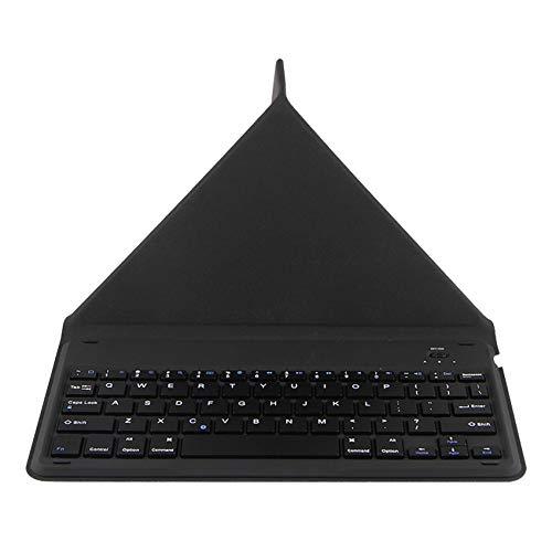Sonline Teclado InaláMbrico para Teclast M40 P20HD M30 T30 Tableta de 10,1 Pulgadas Teclado Soporte para Tableta para Oficina