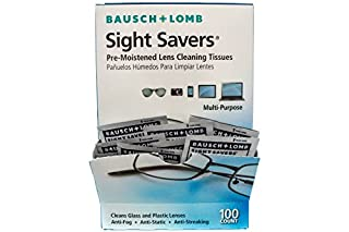 Bausch & Lomb Sight Savers Pre-Moistened Lens Cleaning Tissues - 100 ct. (B001KYRWSS)   Amazon price tracker / tracking, Amazon price history charts, Amazon price watches, Amazon price drop alerts