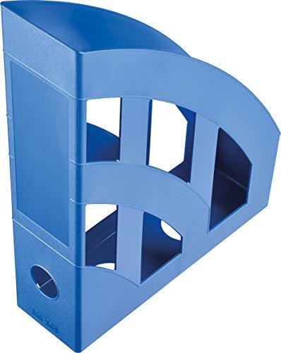 Helit h2361034 Economy-Portariviste formato C4, formato A4, in plastica, colore: blu