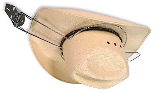 Southwestern Equine Metal Hat Clip [New Version] for Trucks Cars SUV Sturdy Hat Holder (Flat)