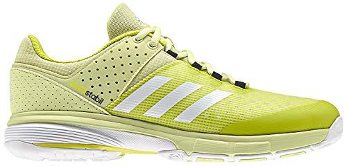 adidas Damen Court Stabil W Handballschuhe, Gelb (Amahie/Ftwbla/Neguti 000), 44 2/3 EU