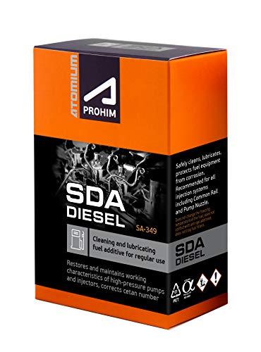 ATOMIUM A-prohim Limpieza de Motores Diesel SDA | System Cleaner Diesel aditivo Diesel | Engine Flush 6x50 ml Diesel Engine | Kit de Limpieza de Coches, aditivo Diesel