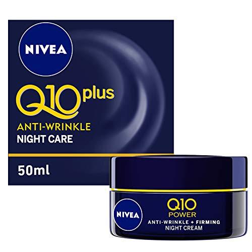 Creme Facial Anti-Idade 50 g Q10 Noturno Unit, Nivea