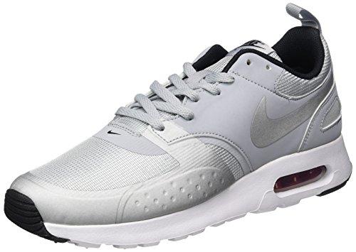 Nike Herren Air Max Vision Premium Sneaker, Grau (Wolf Grey / Metallic Silver / Varsity Red / Black), 44 EU