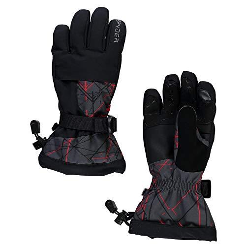 Spyder OVERWEB Winter Jungen Ski Handschuhe schwarz - M
