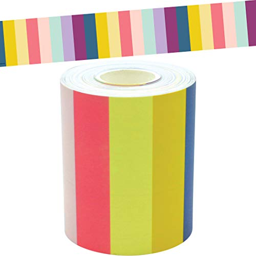 Oh Happy Day Stripes Straight Rolled Border Trim