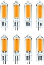 (8PCS) Dimmable LED G4 G9 Light Bulb 3W 6W 220V COB Glass LED Lamp Replace 40W 60W Halogen Bulb for Pendant Lighting Fixtu...