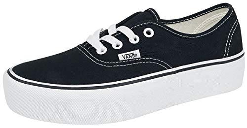 VANS Zapatos Mujer Zapatillas Bajas VN0A3B3UY281 Antigua Plataforma SKOOL Talla 37 Negro/Blanco