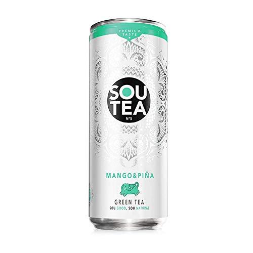 Sou Tea, Refresco de té verde natural con zumo sin
