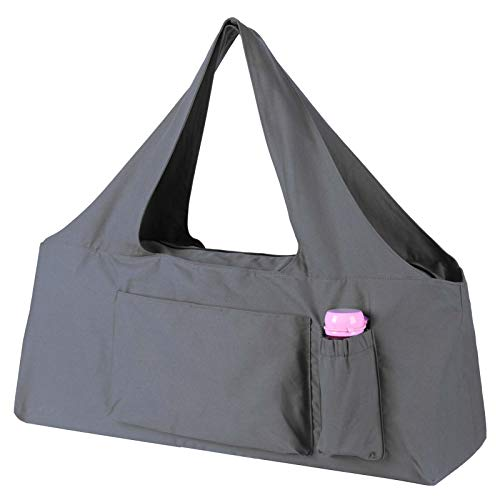 KUAK Extra Large Yoga Mat Bag and Carriers with Yoga Mat Strap, Top Full-Zip Closure, Bottle...