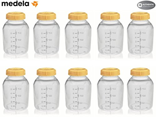 Medela 150 Ml Storage Bottle Case of 10 by Medela (English Manual)