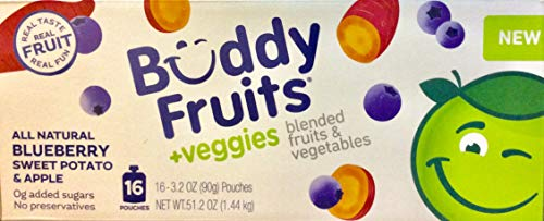 Buddy Fruit plus Blueberry Sweet Potato amp Apple