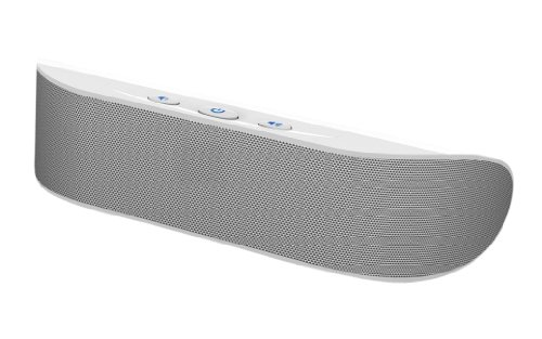 SimplyVibe (Refurbished) SV-S300 (White) 2.1 Channel w/subwoofer Portable Speakers (Gloss White) for iPad, iPod, iTouch, iPhone, MP3 Players, Laptops (Mac/PC) - (USB Or 4 X AAABattery Powered)