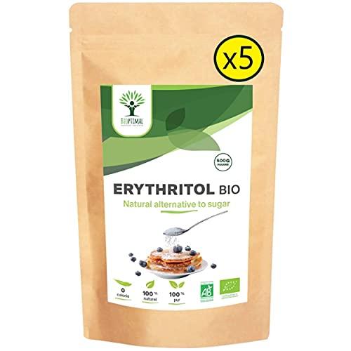 Erythritol Bio - Bioptimal - Zéro Sucre...
