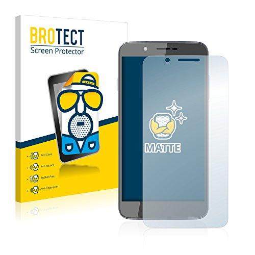 BROTECT 2X Entspiegelungs-Schutzfolie kompatibel mit Archos 55 Helium Ultra Bildschirmschutz-Folie Matt, Anti-Reflex, Anti-Fingerprint