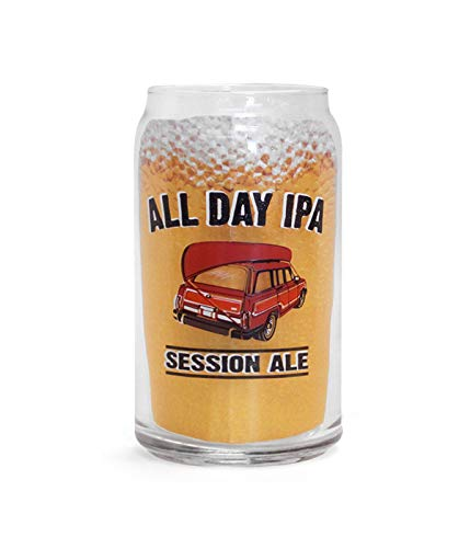 Founders Brewery All Day IPA Can Glass