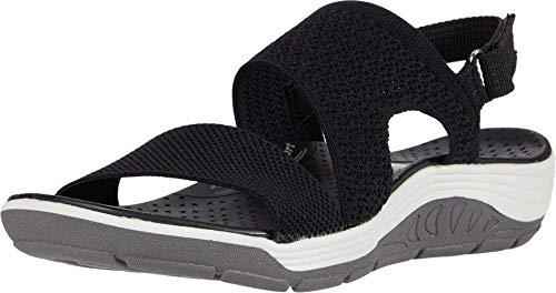 Skechers Women's Sporty Sandal Sport, Black, 7