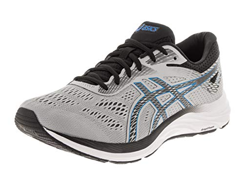 ASICS Men's Gel-Excite 6 Running Shoes, 10.5M, MID Grey/Electric Blue