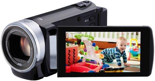 JVC GZ-E205 Full HD Digital Camcorder - Black (1.5MP, 40x Optical Zoom) 3...