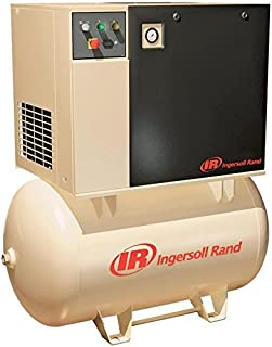 Ingersoll Rand Rotary Screw Compressor - 230 Volts, 3 Phase, 7.5 HP, 28 CFM, Model Number UP6-7.5-125