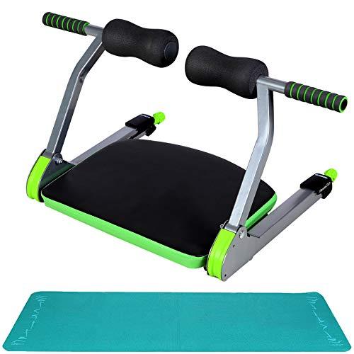 Entrenador abdominal AB Core, entrenamiento de fuerza abdominal, todo en uno para el núcleo con esterilla de yoga e instrucciones de ejercicio para el gimnasio en casa