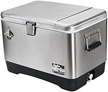 Igloo 54 Quart Stainless Steel Cooler
