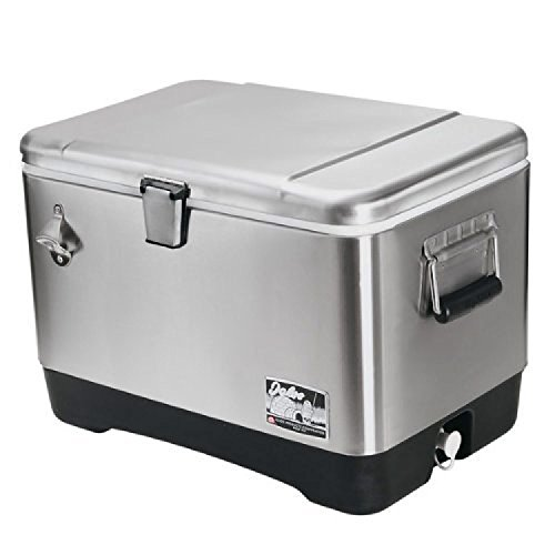 Igloo Stainless Steel Cooler, 54 Quart Now $94.98 (Was $189.99)